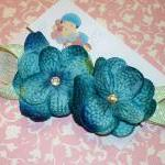 Cerulean Blue Baby Flower H..
