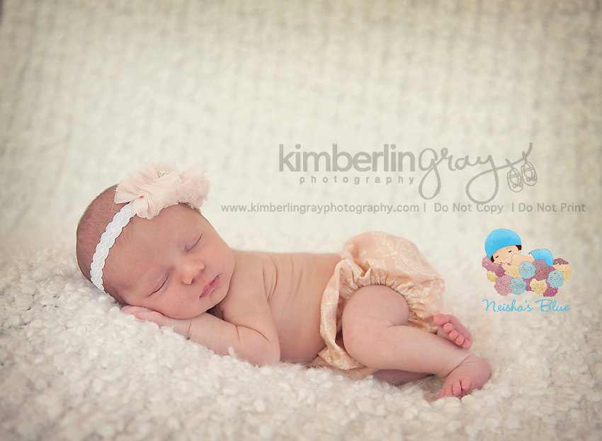 Baby Bloomer Diaper Cover, Diaper Cover, Photography Prop, Pink Victorian Bloomer and Headband
